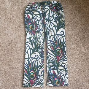Lilly Pulitzer Girls Tickle My Fancy Pants  Size 5